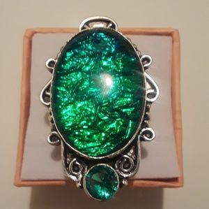 Brain size 7 Australian triple opal new